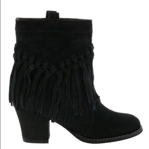 SBICCA SOUND VINTAGE COLLECTION FRINGE BOOTS
